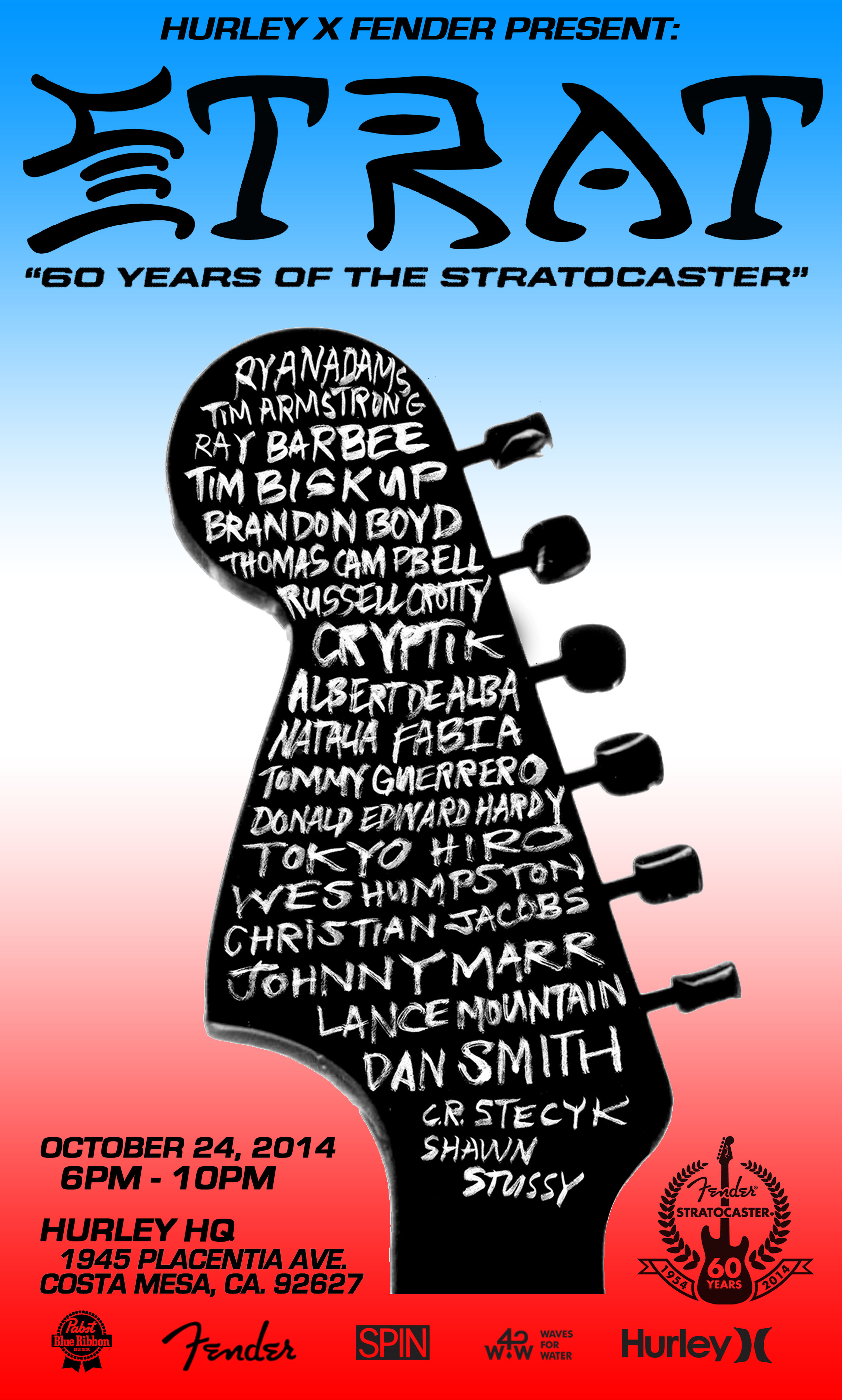 headstock poster
