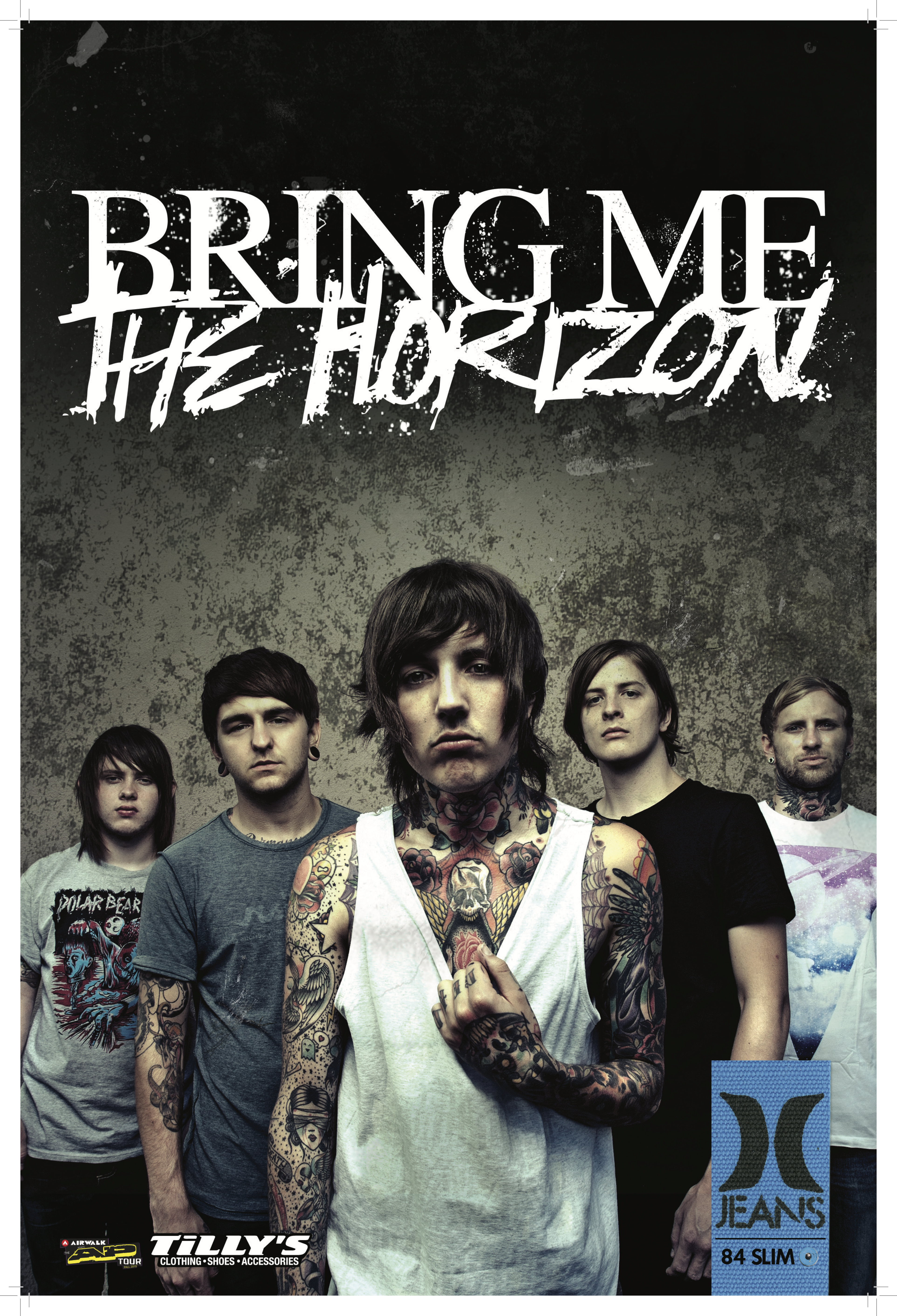 BMTH Signing Poster